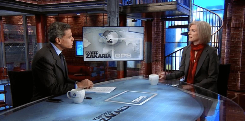 Doudna on CNN with Fareed Zakaria