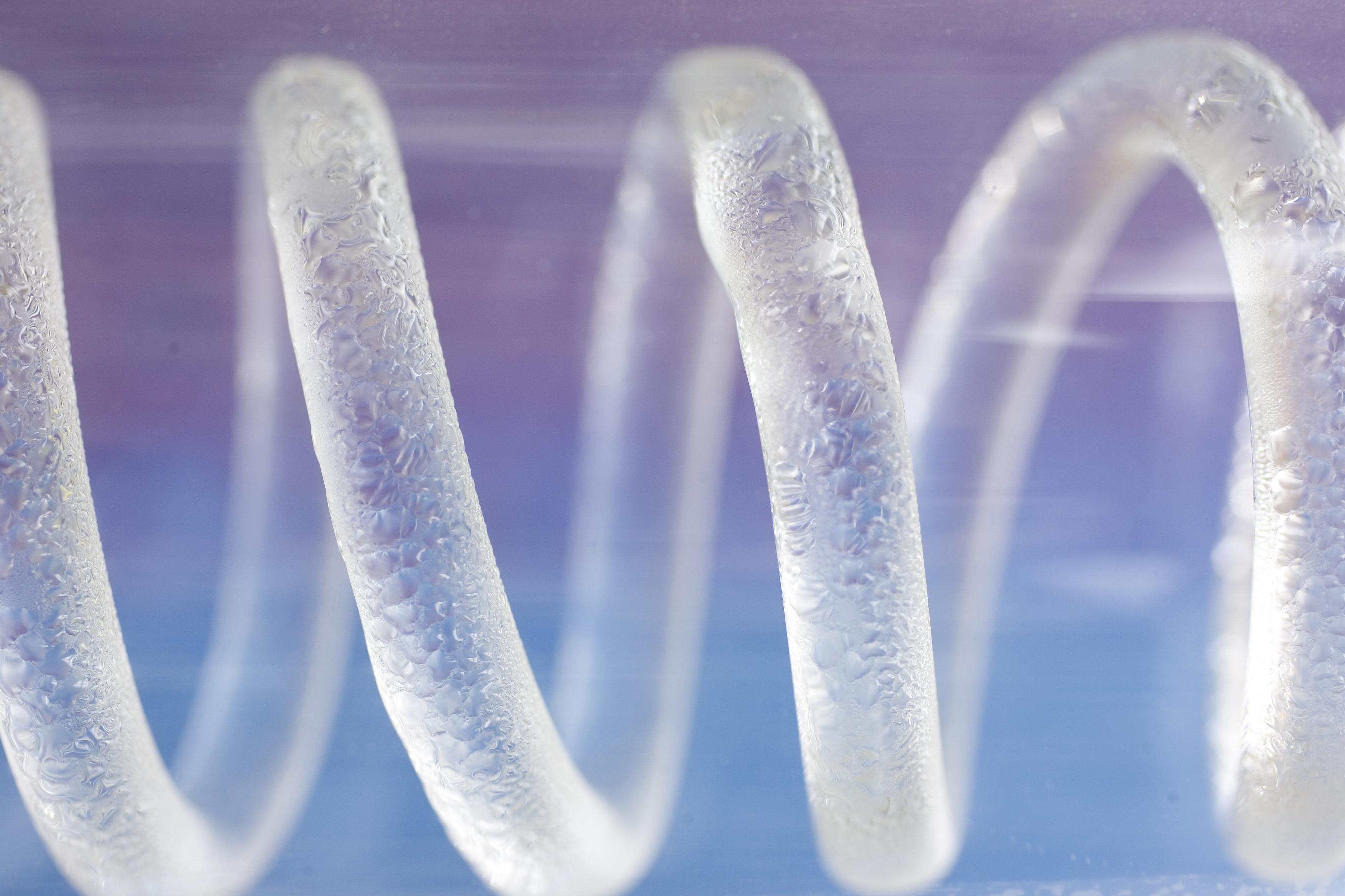 Spiral clear tube