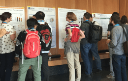 Poster Session with onlookers