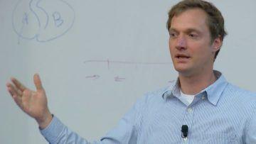 Dirk Hockemeyer giving a talk