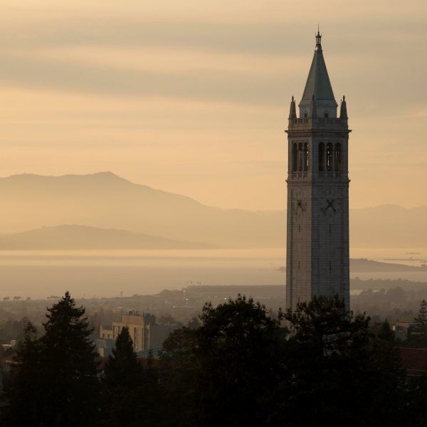 View of UC Berkeley Campanile