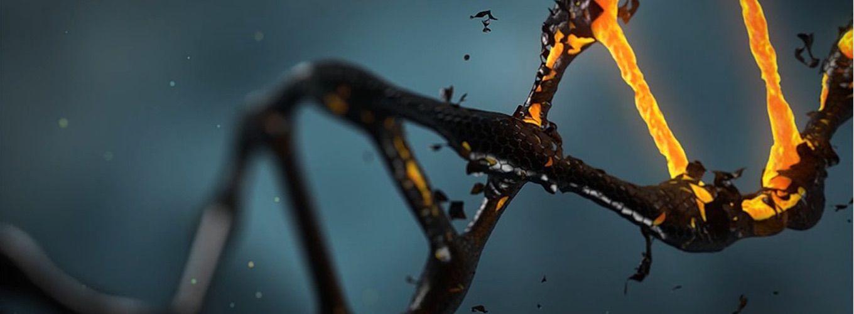 Photo of molten DNA