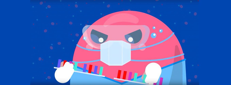 Kurzgesagt Cartoon Cas9 Surgery DNA Cleavage