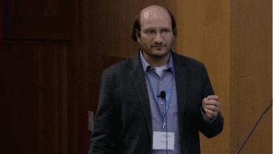 Mike Bassik speaking at CRISPR Workshop 2017