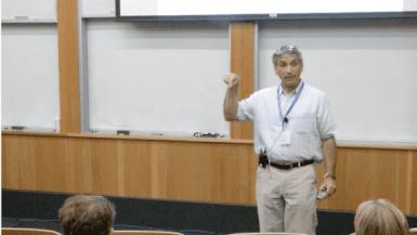 Ethan Bier speaking at CRISPR Workshop 2017