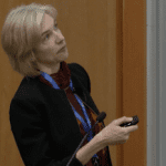 Jennifer Doudna speaking at CRISPR Workshop 2017
