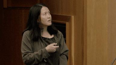 Lin He speaking at CRISPR Workshop 2017