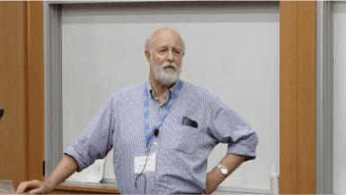 Richard Hynes speaking at CRISPR Workshop 2017