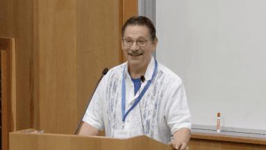 Don Kohn speaking at CRISPR Workshop 2017