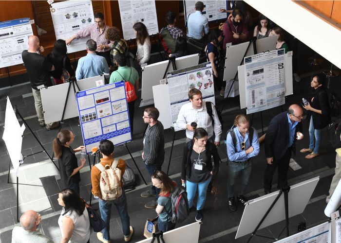 Posters session at the Rewriting Genomes Symposium