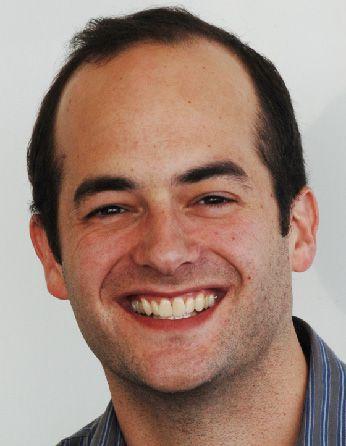 A headshot of professor John Dueber