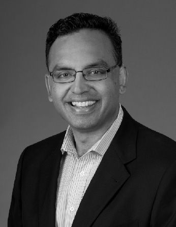 A headshot of professor Niren Murthy