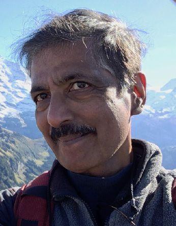 Headshot of professor Venkatesan Sundaresan