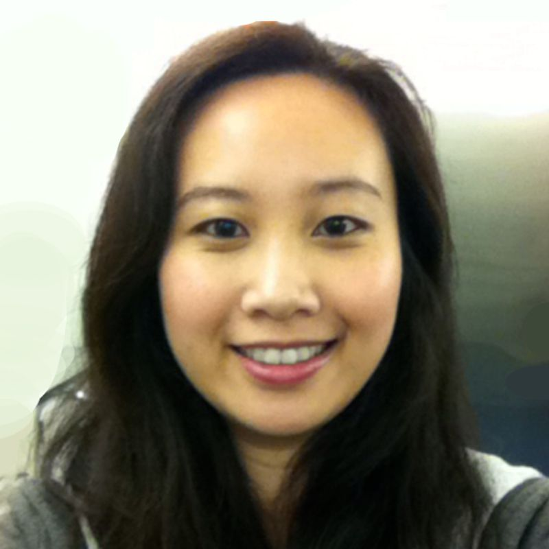 Headshot of research associate Elaine Zhang