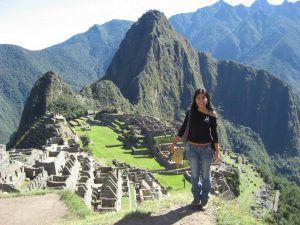 Benny Julissa Ordonez Aquino at Machu Picchu