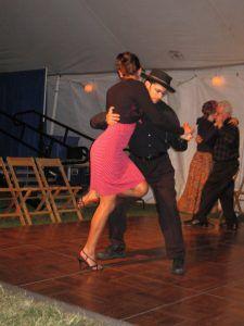 Markita Landry salsa dancing
