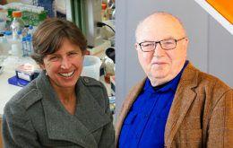 Headshots of Pam Ronald and David Zilberman