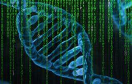 close-up depiction of DNA