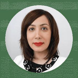 Circle Headshot of Samira Kiani