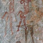 photo of cave art