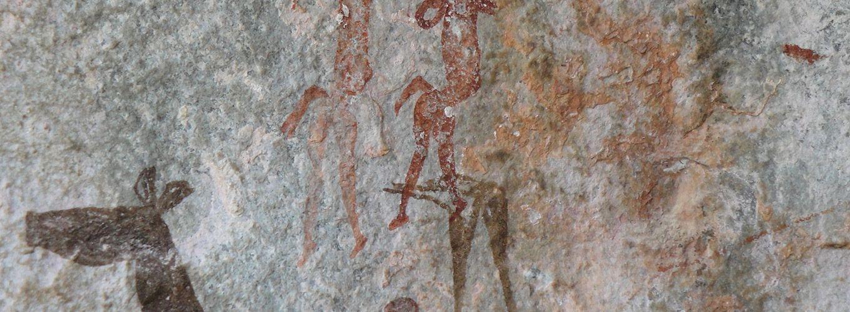 photo of cave art