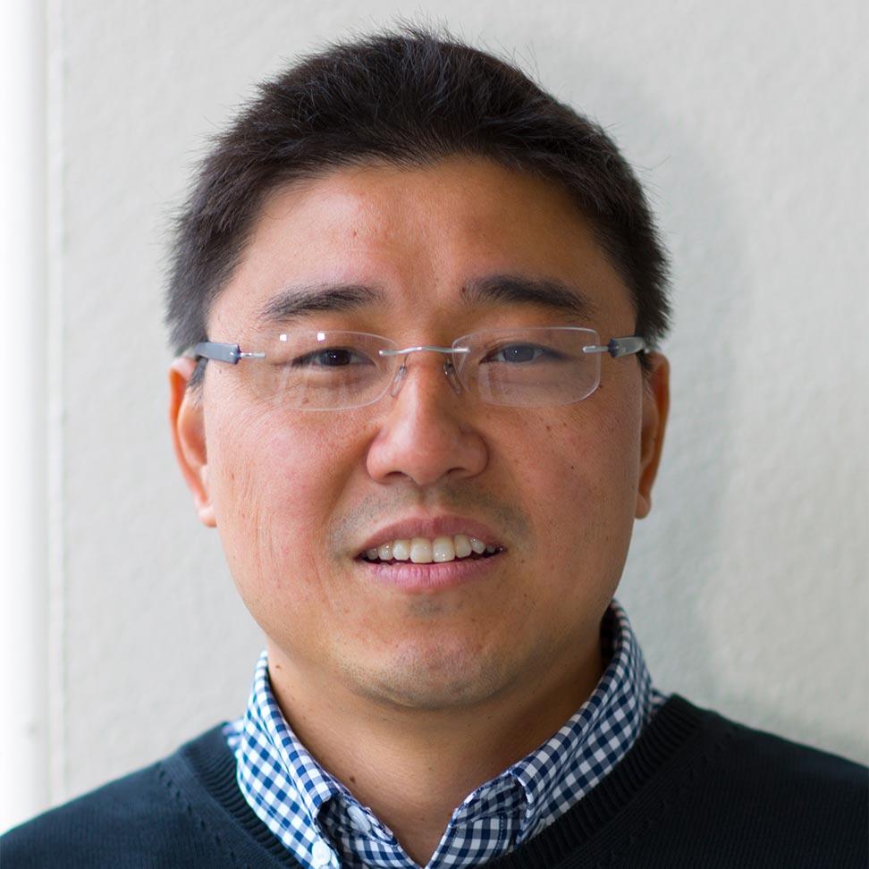 Portrait of Bruce Wang