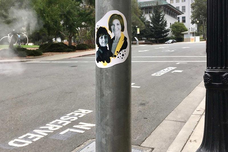 UC Berkeley Nobel Laureate Parking Spot