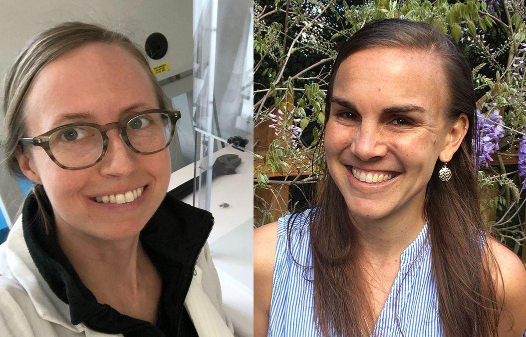 Jennifer Hamilton and Cara Brook photos