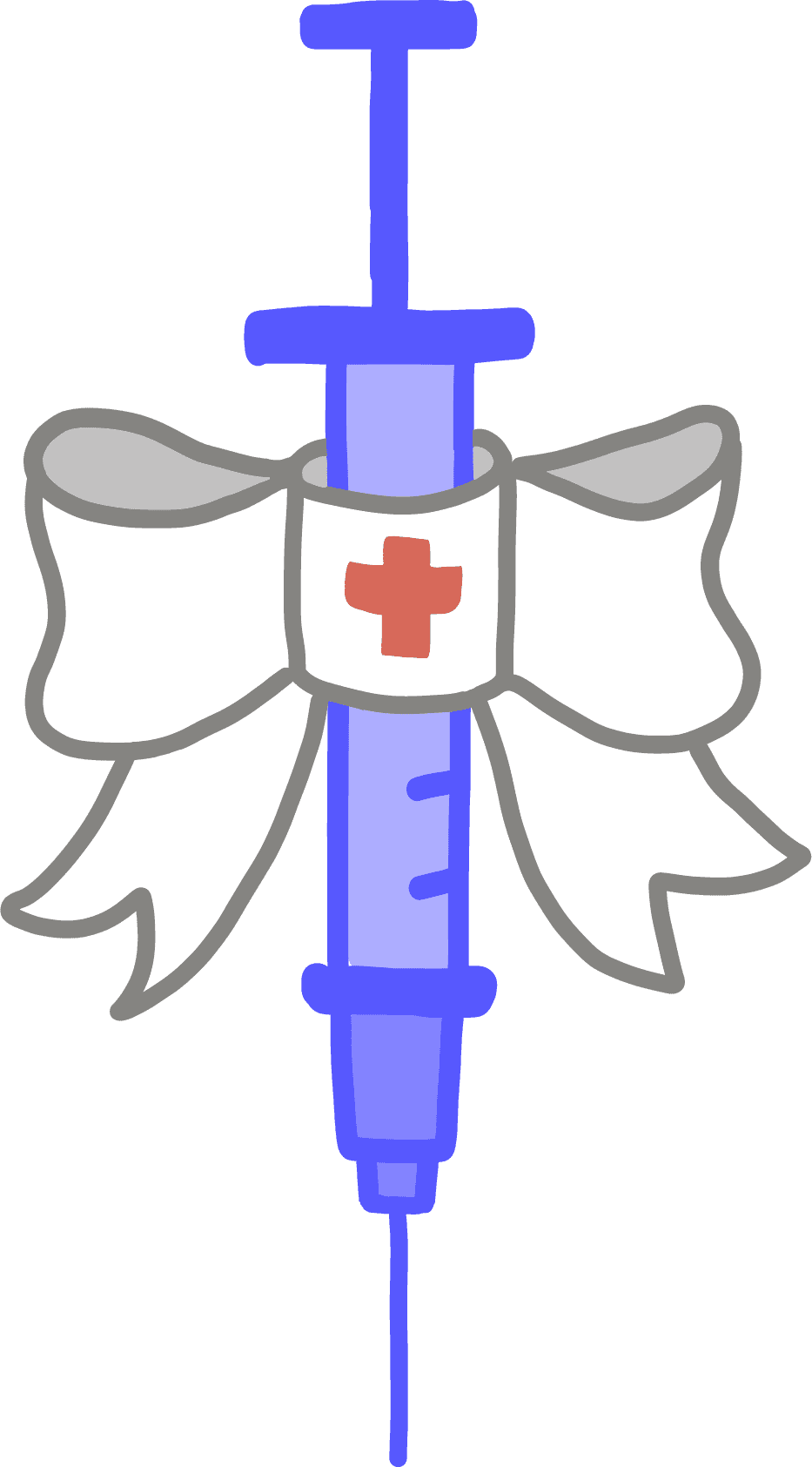 Illustration of a vaccine